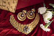 Jewelry creative shoot